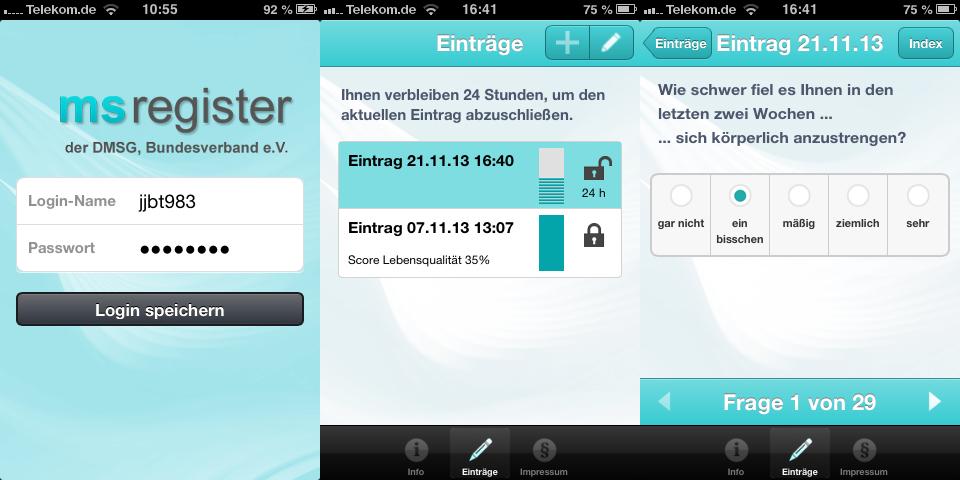 MS-Studien-App